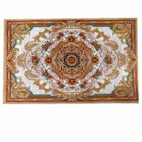 China wholesale Anti-pilling Soft velbos 3D digital Printed area rugs for door and living room