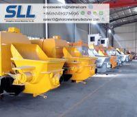 Tunnel Construction High Precision Concrete Pump For Sale