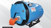 3 Pass Scotch Type Full Cylindirical Liquid Gas Fuel Fired Hot Water Boiler