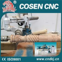 CNC Wood Lathe Wood Turning Machine