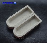 Ceramic boat for sulfur analysis leco 529-204 eltra 90153