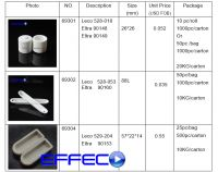Ceramic crucible for carbon sulfur analysis leco 528-018 eltra 90148 90149