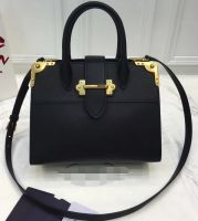 2017 Newest luxury leather shoulder tote