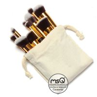MSQ 10pcs cosmetic brushes