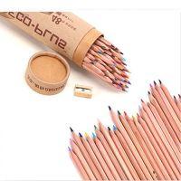 High quality natural wood colored pencils sets 6pcs