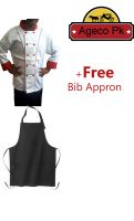 Chef Coat Jacket Chef Uniform Men Kitchen Short Sleeve Cooker Work Restaurant