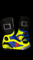 VR46 Motorbike Leather Shoes Motorcycle Racing leather boots