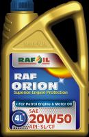 RAF ORION 20W50 API:SL/CF
