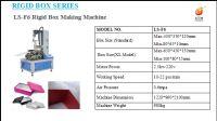LS-F6 Hot Sales Automatic Rigid Box Making Machine