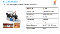 Pneumatic Cardboard Box Four Corner Pasting Machine