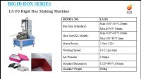 Semi - Automatic Box Making Machine For Candy Box