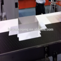 Automatic Feeder Gift Box Cover Paper Hot-Melt Glue Gluing Machine