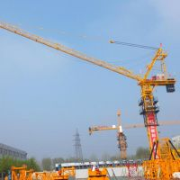 Hongda Tielishi Luffing Jib Tower Cranes QTD