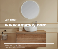 UL IP44 LED Lighted Illuminated Backlit Mirror in Bathroom