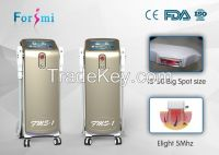 CE approved shr ipl elight hair removal for beauty spa