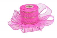 "2.5""*10y dark pink apple green strip metal wire mesh for 20C04M32R2-5"