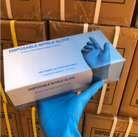 Power Free Disposable Nitrile Gloves
