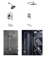 Shower Sprinkler Faucet wall-in bathtub mixer bathtub mixer with shower head best quality hardware