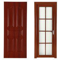 China Solid Wooden Door Interior Door Room Door & Toilet Door New Design in 2017