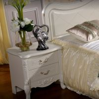 Hot Sell Vintage Nightstand Two Drawers Bedside Table Bedroom Furniture Source Building Material:chinahomeb2b.com