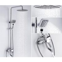 New High quality Bathroom Shower Faucet Mixer Head SUS304 Rain Thermostatic alitile.com Lola stainless steel