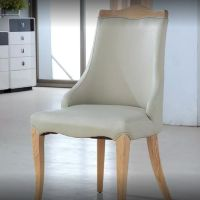 Dining Chairs Restaurant Leather Modern Fashion Wholesale Wooden Design Source Building Material:chinahomeb2b.com