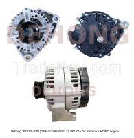 24V 70A alternator VG1246090017 for sinotruck howo