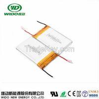 3.7v 8000mah 126090 lithium polymer battery tablet laptop mobile phone