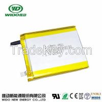 3.7v 2500mah 505571 li-ion battery rechargeable cellphone battery