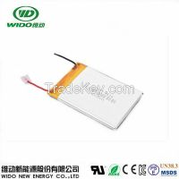 3.7v 4000mah 505571 606090 lithium ion rechargeable battery