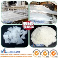 Iron Free Aluminum Sulfate for Water Purification