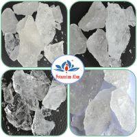 High quality deydration Potassium alum/potassium aluminum sulfate for food additive