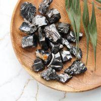 Elite shungite stones 200 grams (5-15 grams each)