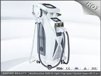 IPL RF E-light SHR hair removal ND YAG laser tattoo removal 4 in 1 hair removal