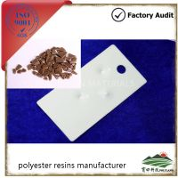 Saturated polyester resin for powder coating