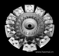 Super Deep Solid Tyre Mould with 8 Segments