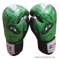 REX Sports Hulk Sketched Boxing Gloves