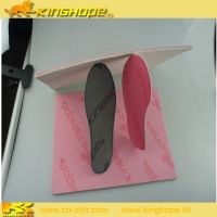 Cellulose fiber insole board with EVA sheet shoe accessories