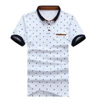 Men's short-sleeved polo shirts