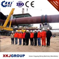 Hot sale magnesite rotary kiln used for calcining the cement clinker from China industry leader