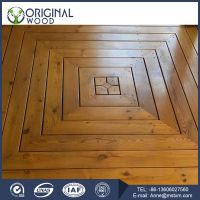 Factory Price Thermo wood Parquet Flooring for sale