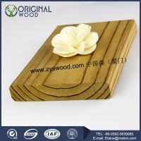 Eco-friendly thermowood decking wooden floor outdoor