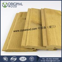 Thermowood wall ceilings solid wood