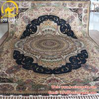 Handmade Silk persian carpet
