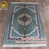 4x6ft Chinese handamde silk carpets