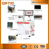 Optic China Fiber Laser Marking Machine