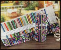 National flavor pencil case roll