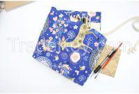 fabric cute pen case