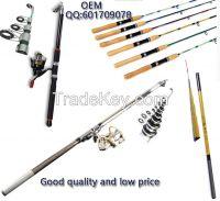 The main products: sea rods, fishing boats, fishing rod, stream pole,