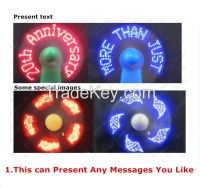 2017 New Summer Promotion Gift souvenir smart Handheld led mini fan wi